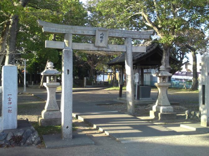 Hachimangu Shrine (八幡宮神社) in Shimada City (Rokugo JR Station)!
