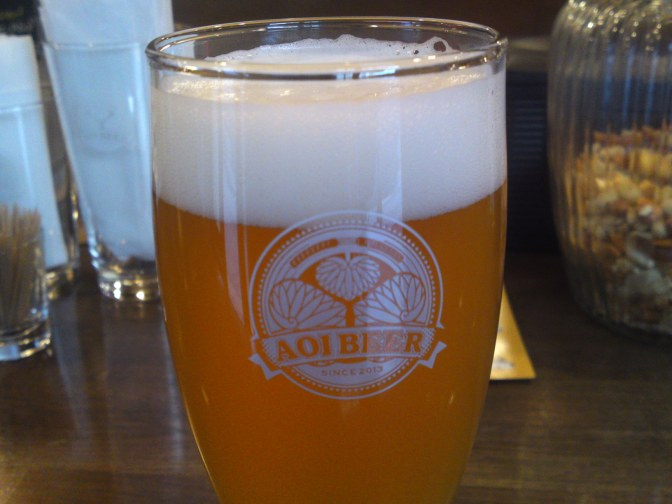 Shizuoka Beer Tasting: Aoi Brewing-Vltava Pilsner