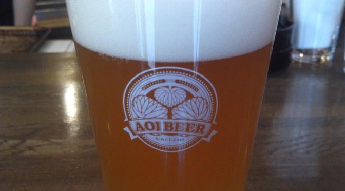 Shizuoka Craft Beer: Aoi Brewing-Honnori Ocha Ale/Honnori Green Tea Ale!