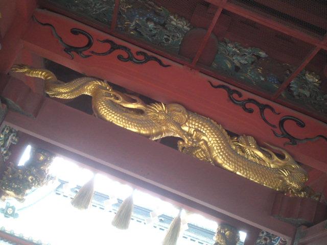Bestiary at Sengen Shrine in Shizuoka City!