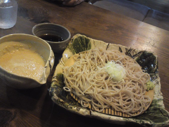 Soba (Buckwheat Noodles) Restaurant: Soba Gen in Shimada City!