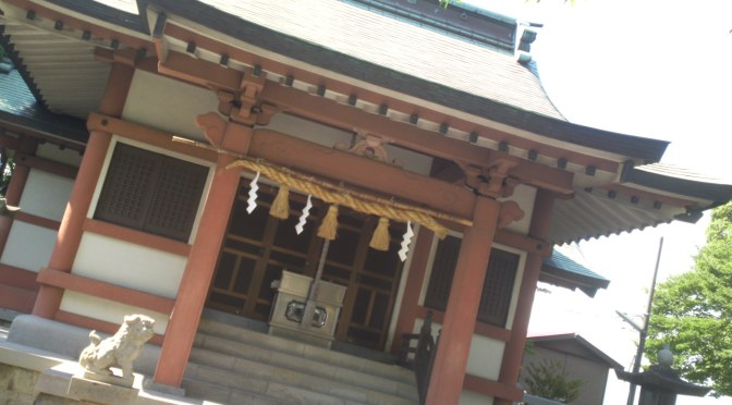 Kinomoto Shrine (木之元神社) in Yoshiwara, Fuji City!