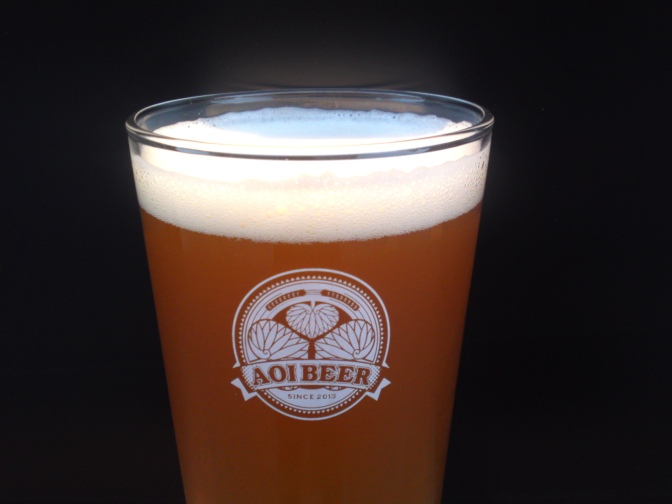 Shizuoka Craft Beer: Aoi Brewing-Honnnori Cha Ale (4th Batch)