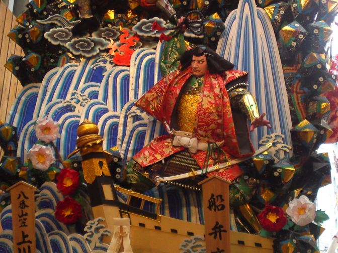 Hakata Gion Yamakasa Festival Giant Floats in Fukuoka City!