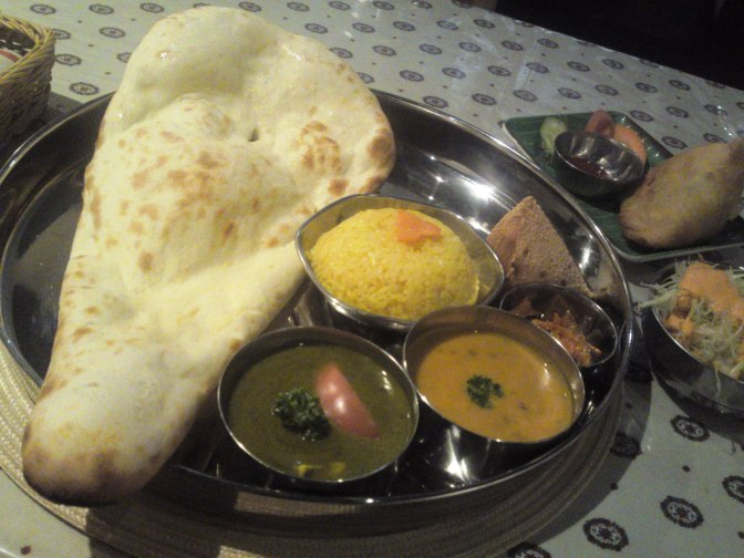 Nepalese-Indian Gastronomy: Vegetarian Lunch at Namaste Nippon in Shizuoka City!