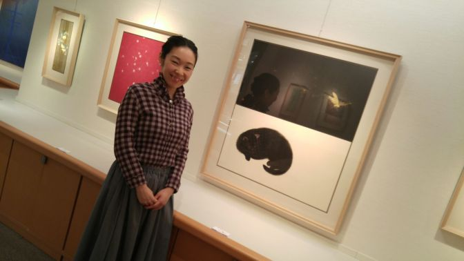 Young Nihonga Artist: Kyoko Imagawa/今川教子 (from Shimizu Ku, Shizuoka City)!