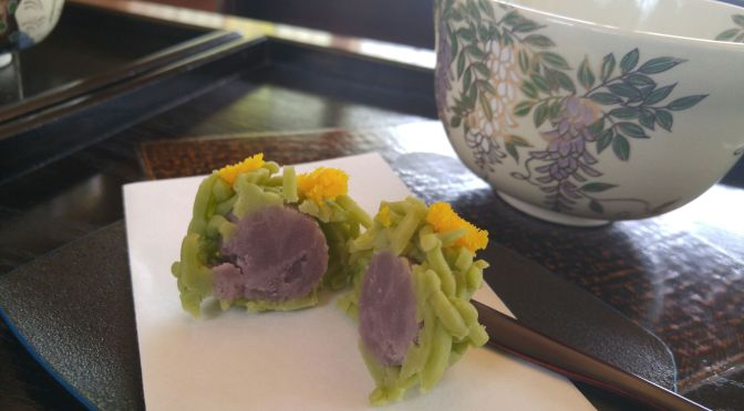 Japanese Cakes/Wagashi 1: Introduction