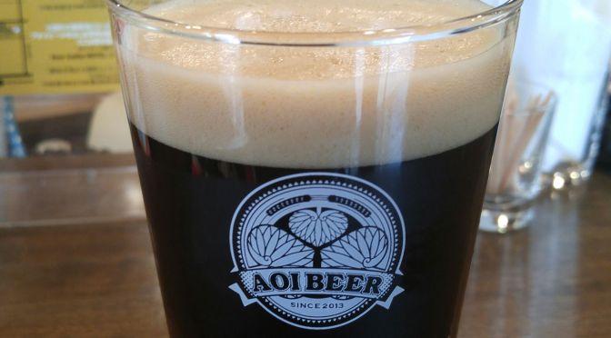"""Shizuoka Beer Tasting: Kuraya-Narusawa/Hansharo Beer-""""Yoritomo"""" Porter"""