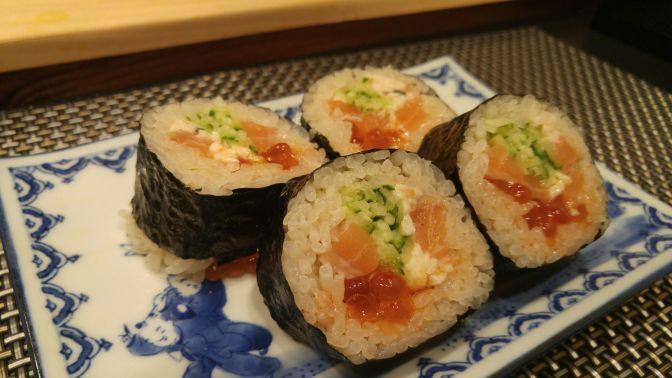 Dinner at Sushi Shokunin Birukawa in Shizuoka City!