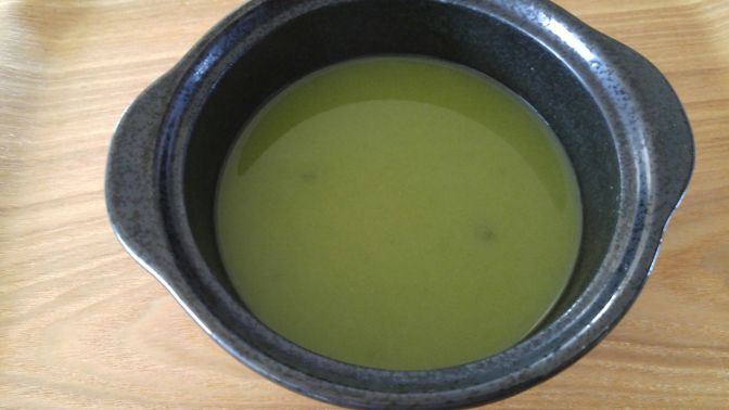 "Japanese Tea X Potage=""Pochage"" by Marufuku Seicha in Shizuoka City!"