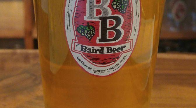 Shizuoka Beer Tasting: Baird Beer-2017 India Pale Lager