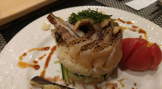 Sushi Millefeuille 2017 Summer Version at Sushi Shokunin Birukawa in Shizuoka City!