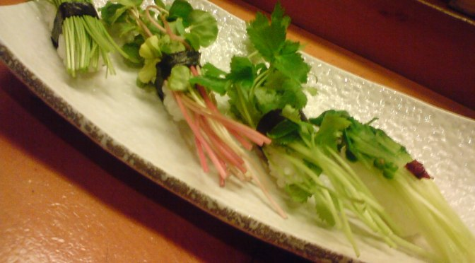Vegetarian (& Vegan) Sushi: It exists in Shizuoka!