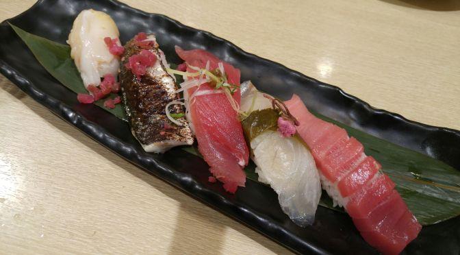 Dinner at Numazu Uogashi Nagare Sushi, Shizuoka Parche Restaurant