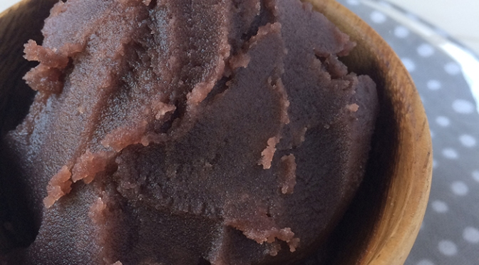 Japanese Cakes/Wagashi for Vegans/Vegetarians 2: Recipe-Anko/Sweetmeats/ Recette d'ANKO, pâte de haricots rouges.