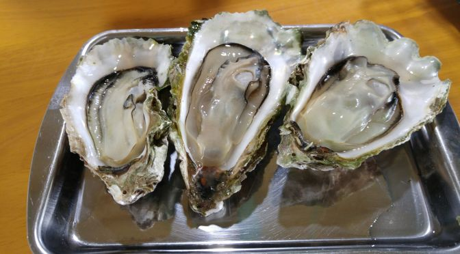 Oysters and Eels at Maisaka Maruma Kofukumaru in Maisaka, Hamamatsu City!