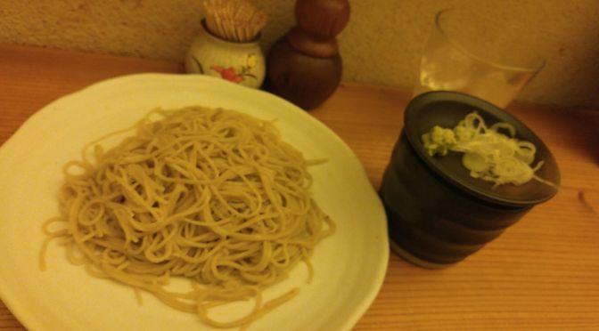 Hand made soba/buckwheat noodles and sake at Te Uchi Soba Shizuoka with Masanao Chiba in Shizuoka City!